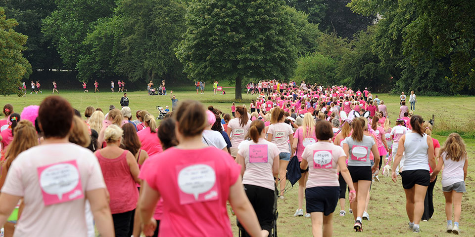 Cancer Research UK — Race for Life Mission Briefing